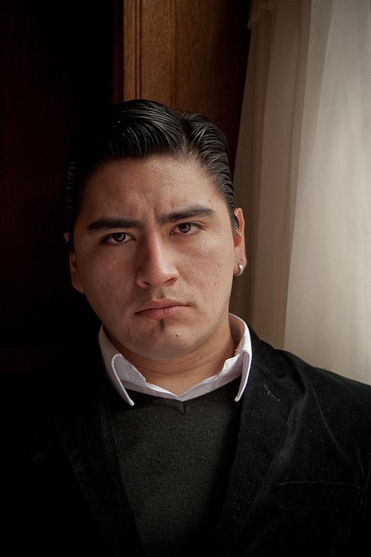 DIEGO ORTEGA / Bailarín de Tango (Campeón Mundial) /  Cantor de Tango / 2011 / © Juan Pablo Librera
