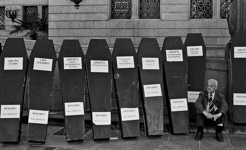 Marcha por la cultura 2001 - Juan Pablo Librera - 1