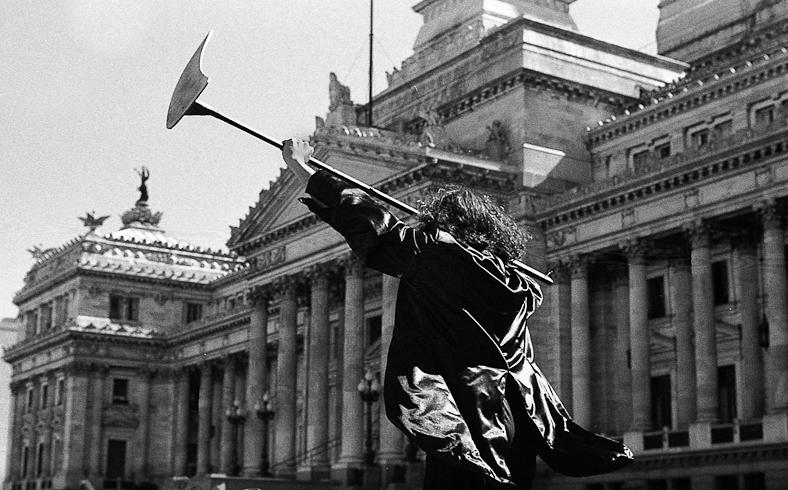 Marcha por la cultura 2001 - Juan Pablo Librera - img042
