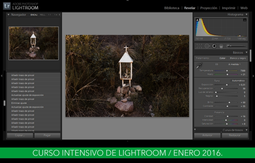 Curso de Lightroom Enero 2015