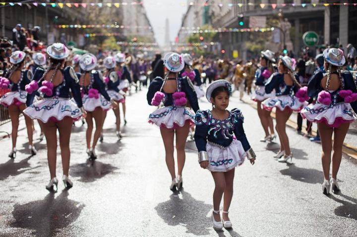 Fotos del Desfile por la Integracion Cultural de Bolivia y Argentina, 2015 02