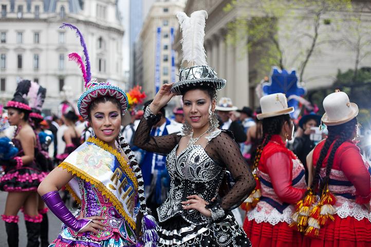 Fotos del Desfile por la Integracion Cultural de Bolivia y Argentina, 2015 03