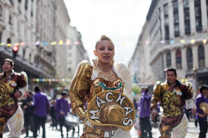 Fotos del Desfile por la Integracion Cultural de Bolivia y Argentina, 2015 09