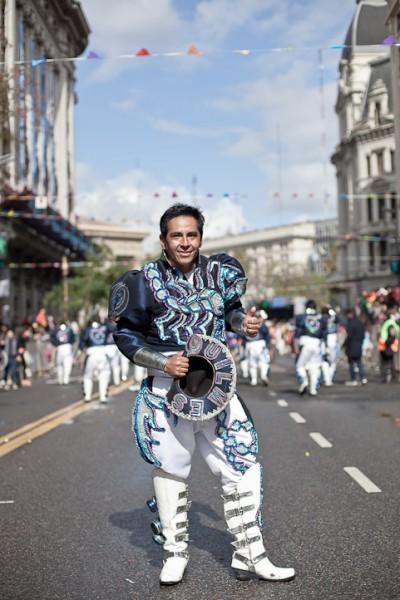 Fotos del Desfile por la Integracion Cultural de Bolivia y Argentina, 2015 10
