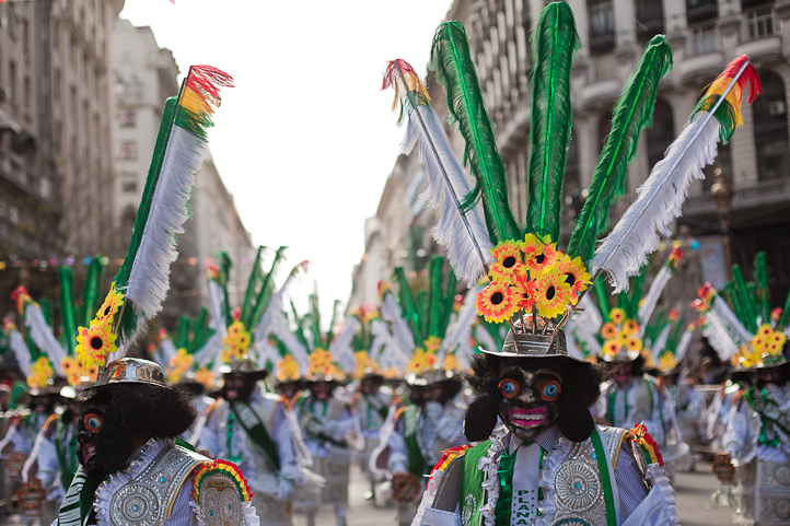 Fotos del Desfile por la Integracion Cultural de Bolivia y Argentina, 2015 11