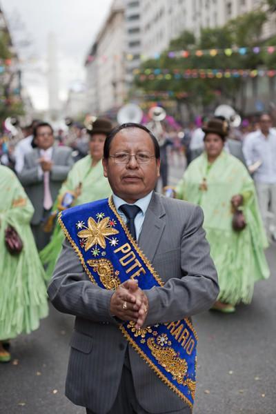 Fotos del Desfile por la Integracion Cultural de Bolivia y Argentina, 2015 12