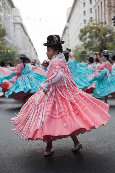 Fotos del Desfile por la Integracion Cultural de Bolivia y Argentina, 2015 13