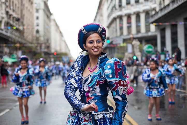 Fotos del Desfile por la Integracion Cultural de Bolivia y Argentina, 2015 14
