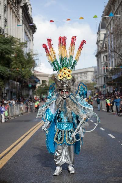 Fotos del Desfile por la Integracion Cultural de Bolivia y Argentina, 2015 15