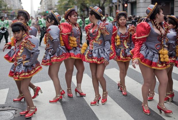 Fotos del Desfile por la Integracion Cultural de Bolivia y Argentina, 2015 18