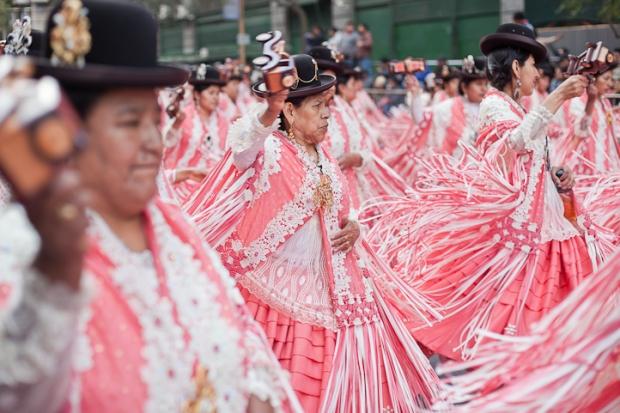 Fotos del Desfile por la Integracion Cultural de Bolivia y Argentina, 2015 19