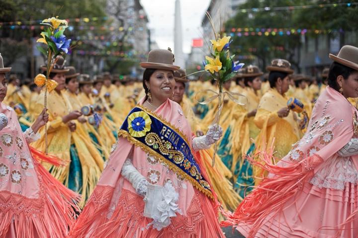 Fotos del Desfile por la Integracion Cultural de Bolivia y Argentina, 2015 20