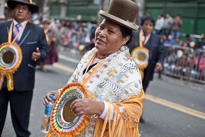 Fotos del Desfile por la Integracion Cultural de Bolivia y Argentina, 2015 21