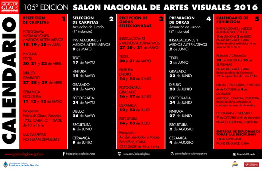 105 SALON NACIONAL DE ARTES VISUALES