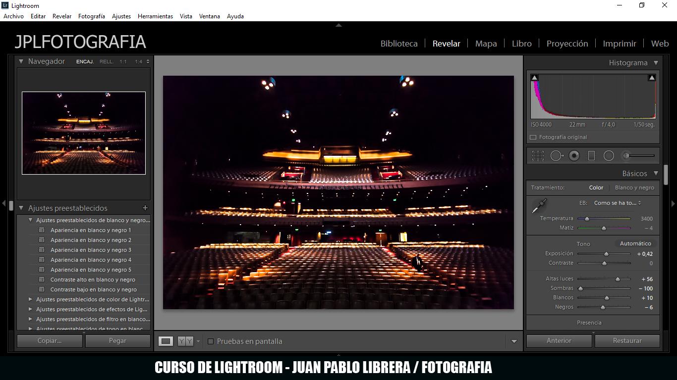 Curso de Lightroom 2018 en Buenos Aires
