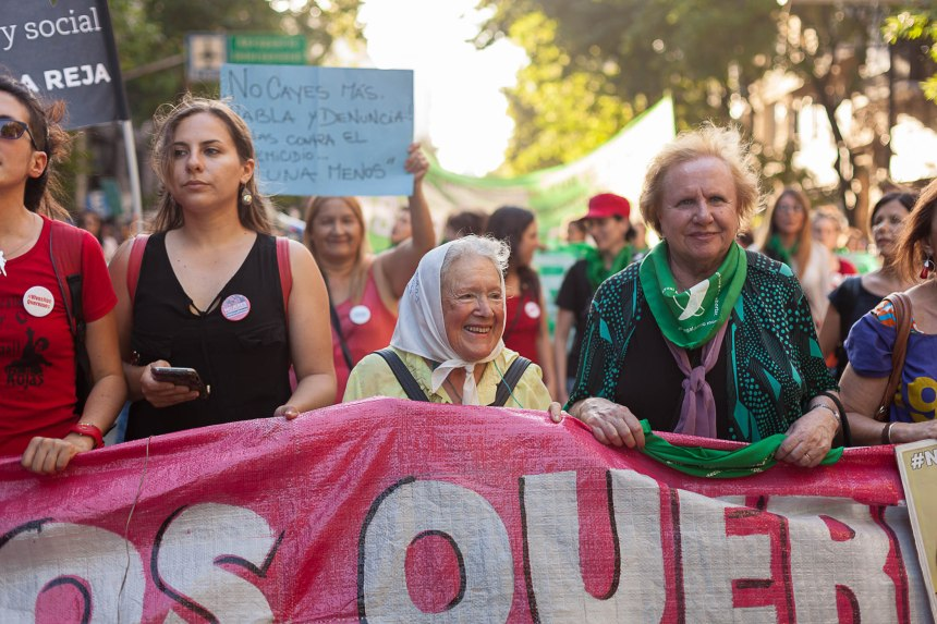 Marcha Nosotras Nos Organizamos 2016 Juan Pablo Librera