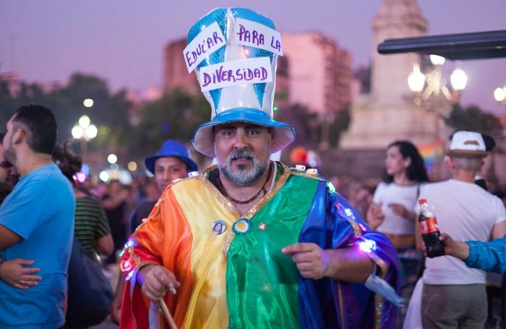 Marcha Del Orgullo LGBTIQ 2016 / © Juan Pablo Librera
