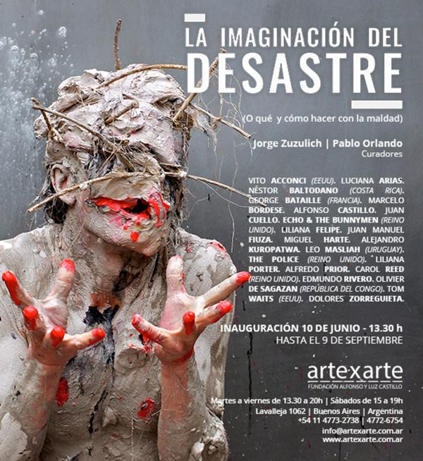 LA IMAGINACION DEL DESASTRE EN ARTE X ARTE