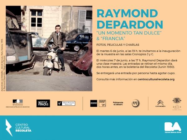 Raymond Depardon en el Centro Cultural Recoleta 01
