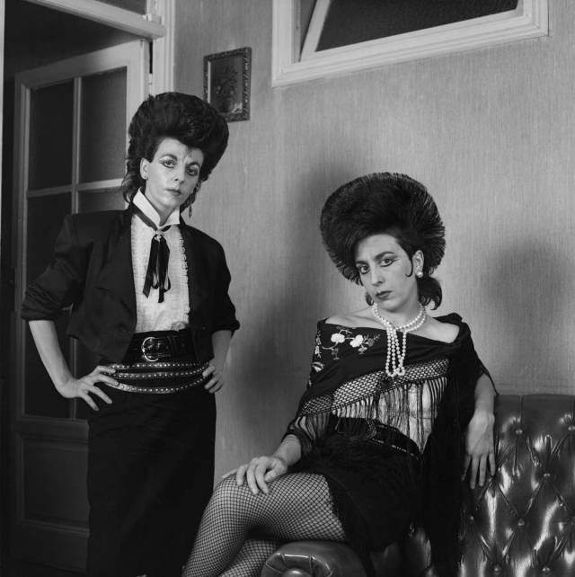 Alberto Garcia Alix Dos-Ladies-1988