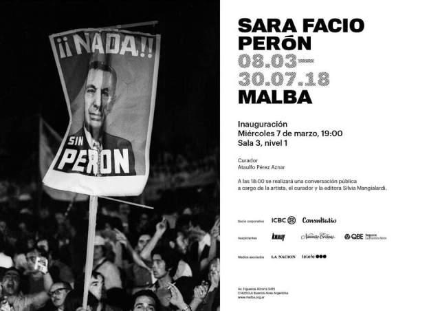 Peron de Sara Facio en el MALBA 01