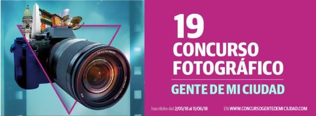 CONCURSO FOTOGRAFICO GENTE DE MI CIUDAD 2018