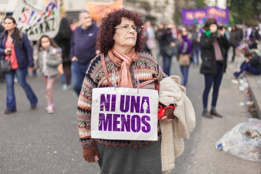 Cobertura de Marcha - Fotos realizadas en el Curso Intermedio de Fotografía de Juan Pablo Librera