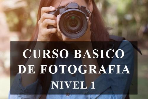 CURSO BASICO DE FOTOGRAFIA